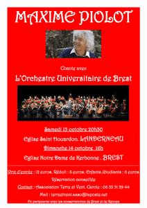 Concert à Landerneau (29) @ Église Saint Houardon
